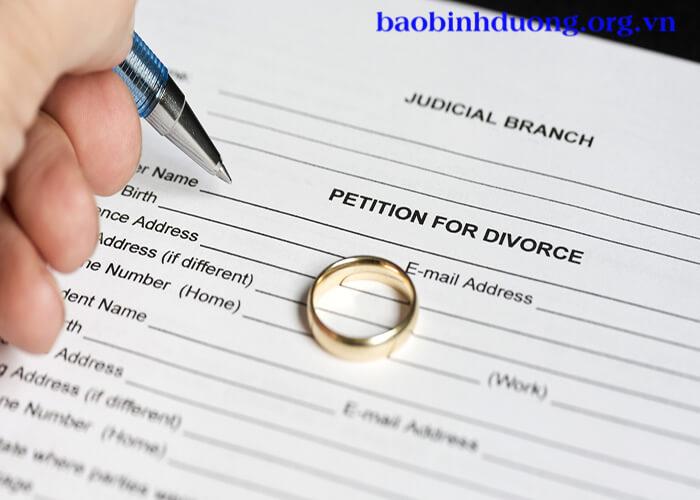 Mẫu đơn ly hôn