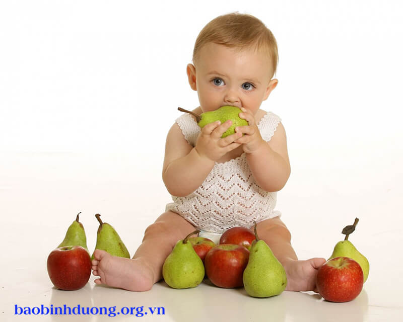 Trị ho cho trẻ bằng quả lê