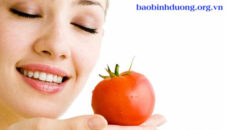 công dụng tuyệt vời của cà chua: