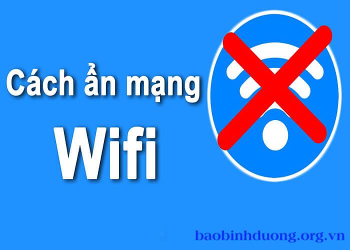 Cách ẩn Wifi fpt