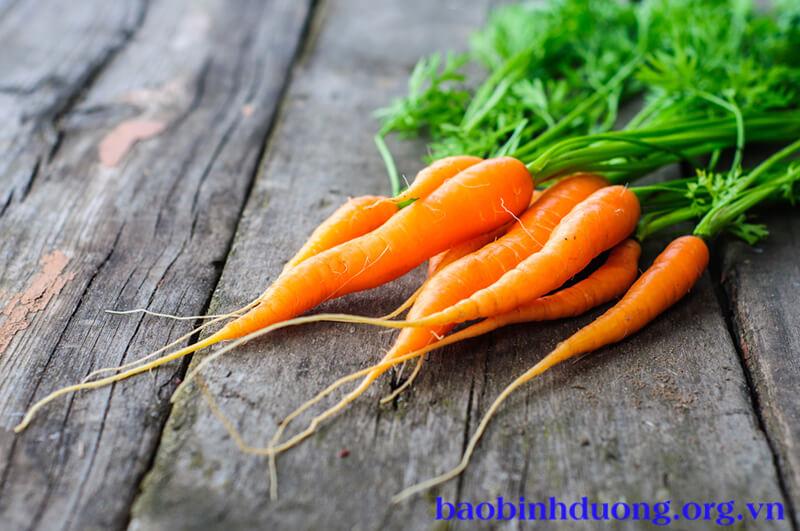 Cà rốt được ví như 1 loại sâm thần kỳ