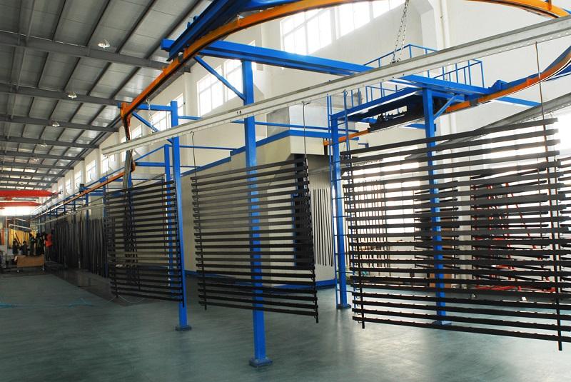 sơn tĩnh điện áp dụng vào rất nhiều chi tiết công nghiệp đem lại độ bền cao