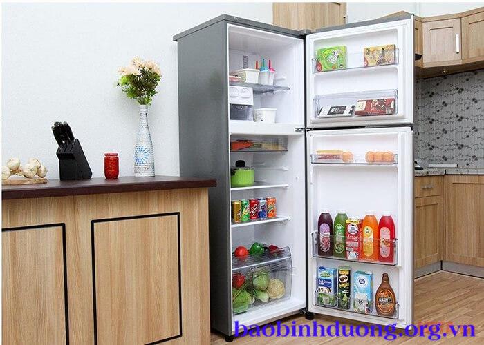 Kích thước tủ lạnh 2 cánh
