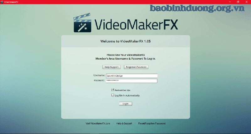 Yêu cầu cấu hình máy tính cài đặt Video Maker Fx