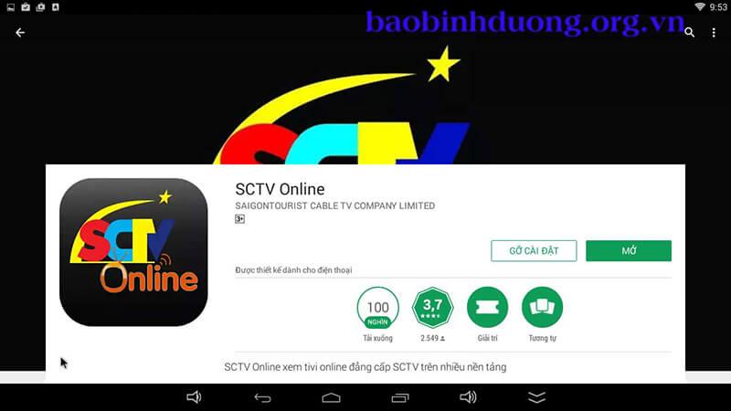 Cài đặt SCTV online