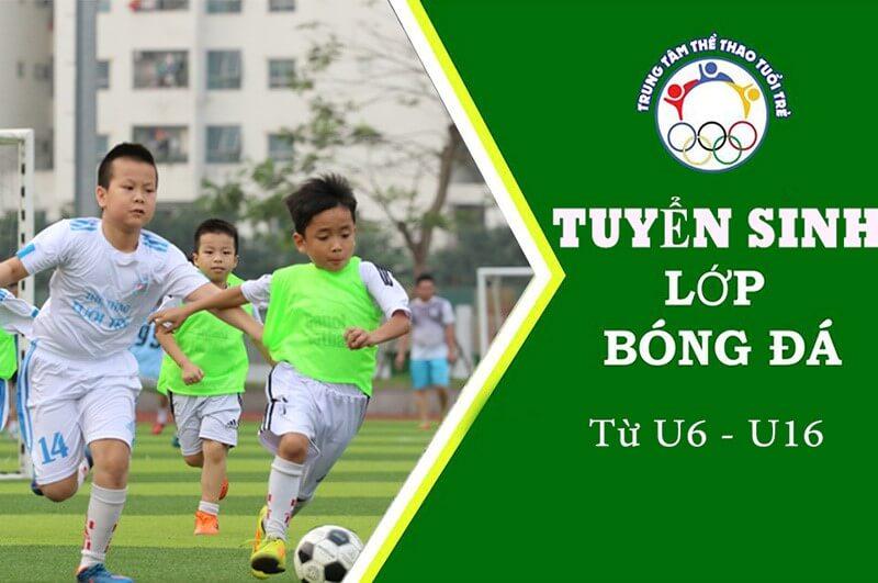 Trung tâm đào tạo bóng đá trẻ em số 1 tại Hà Nội