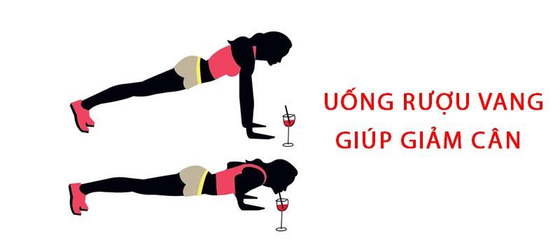 rượu vang giúp giảm cân hiệu quả