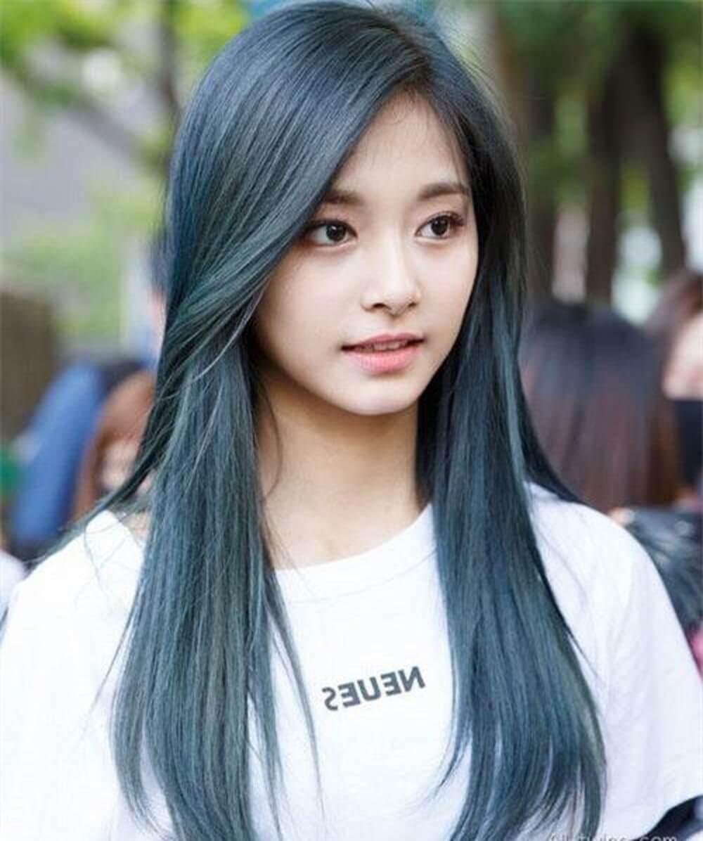 Những kiểu tóc mái đẹp dài, cho cô ngàng dịu dàng